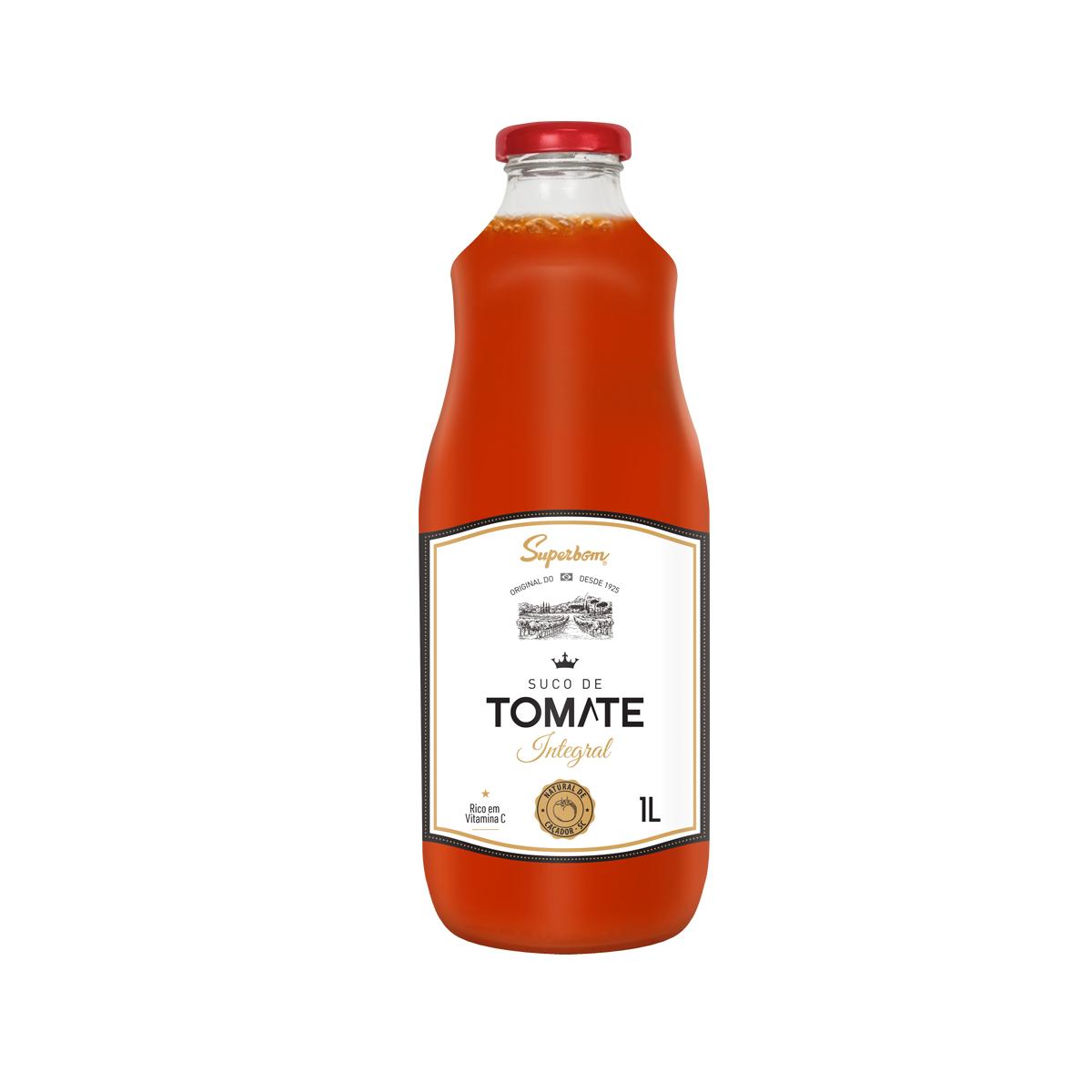 Suco de Tomate Integral 1L - Super Bom