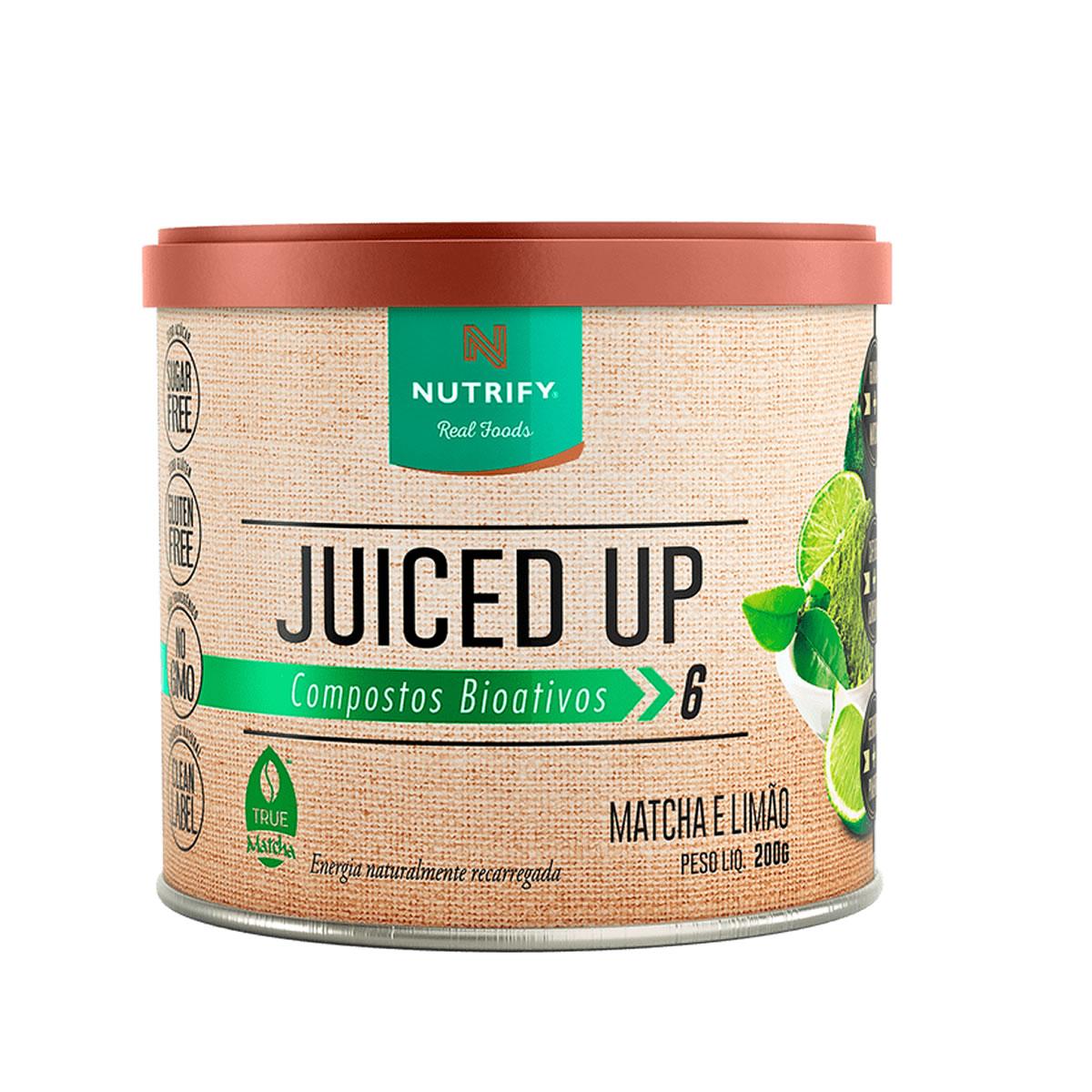 Suplemento Alimentar Juiced UP sabor Limão 200g - Nutrify