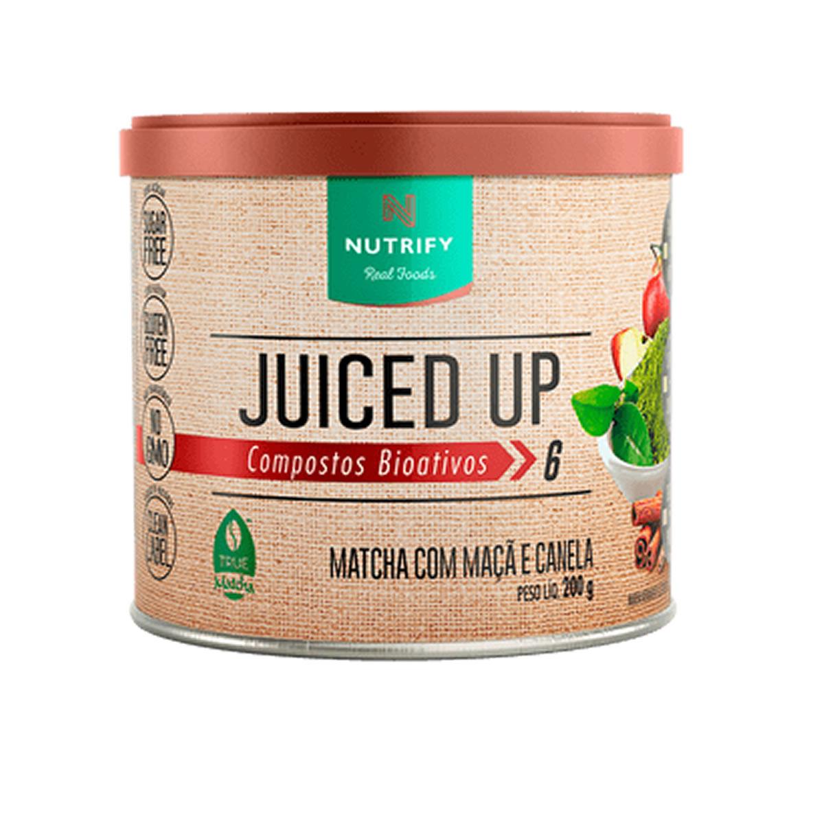 Suplemento Alimentar Juiced UP sabor Maça e Canela 200g - Nutrify