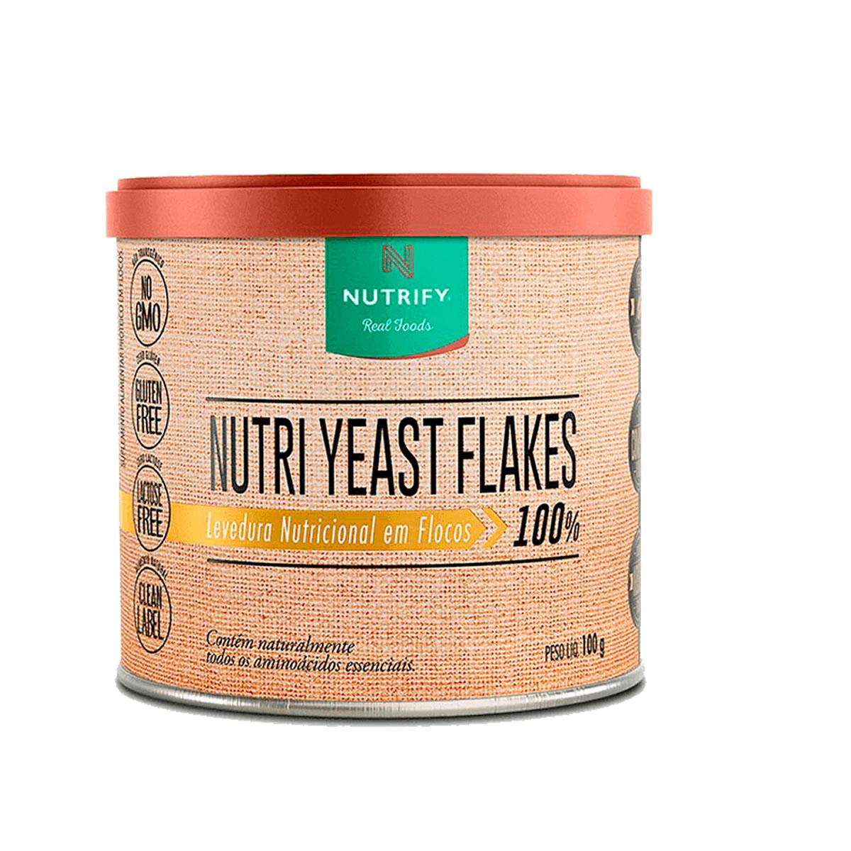 Suplemento Alimentar Nutri Yeast Flakes 100g - Nutrify