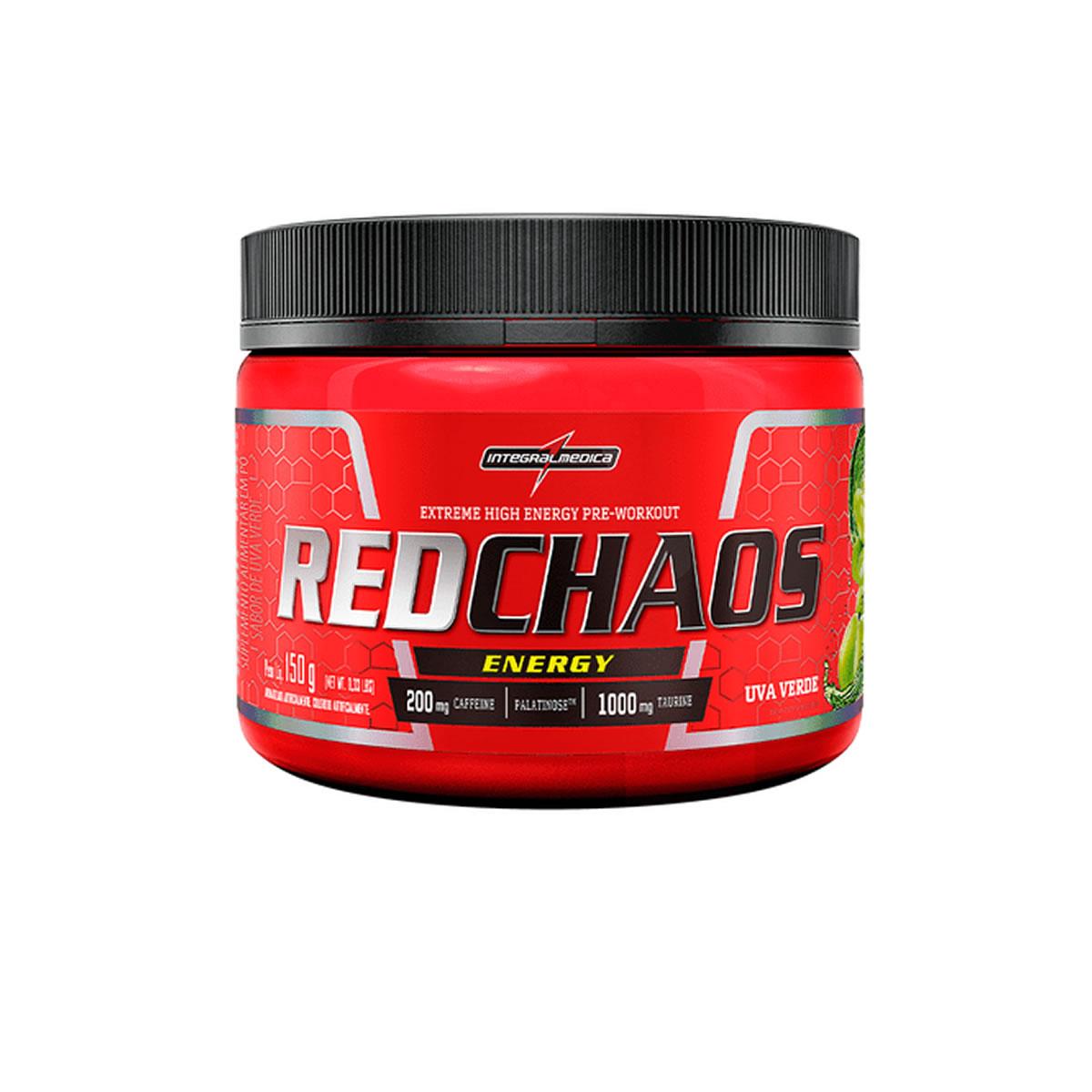 Suplemento Alimentar Red Chaos sabor Uva verde 150g - Integralmedica