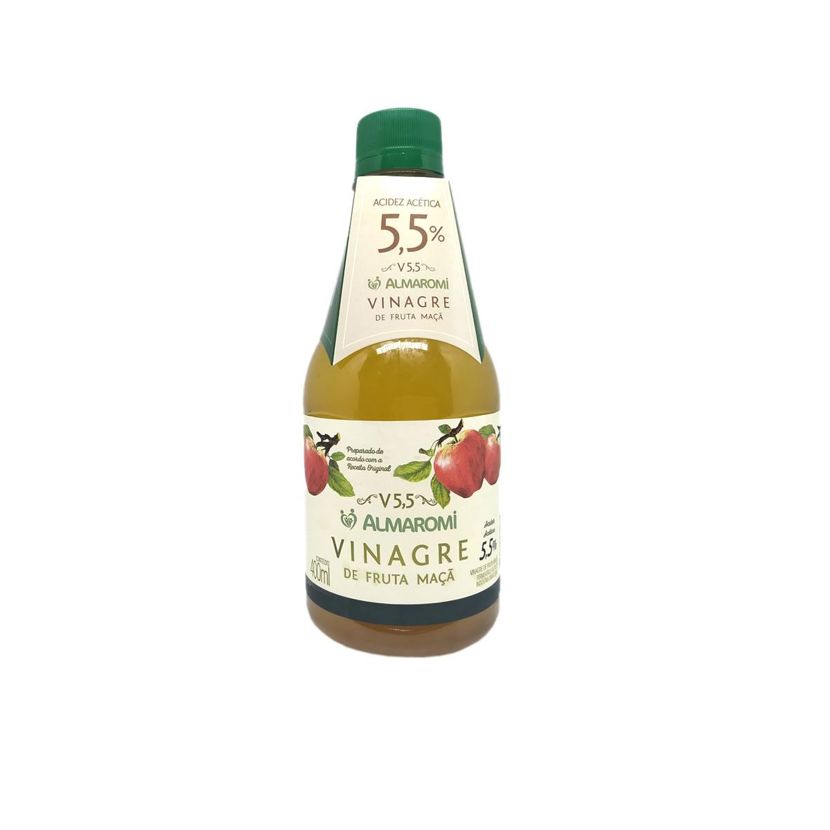 Vinagre de Fruta de Maçã V5,5 400ml - Almaromi