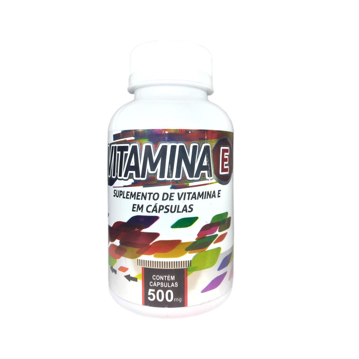 Vitamina E 470mg 100 cápsulas - Poly Flora