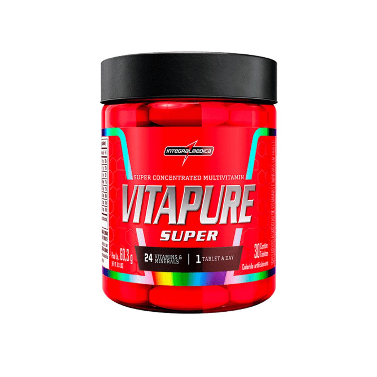 Vitapure Super 2g 30 Tabletes - IntegralMedica