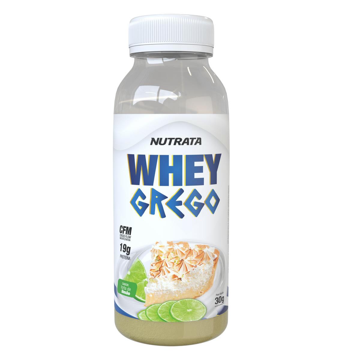 Whey Grego Monodose sabor Torta de Limão 30g - Nutrata