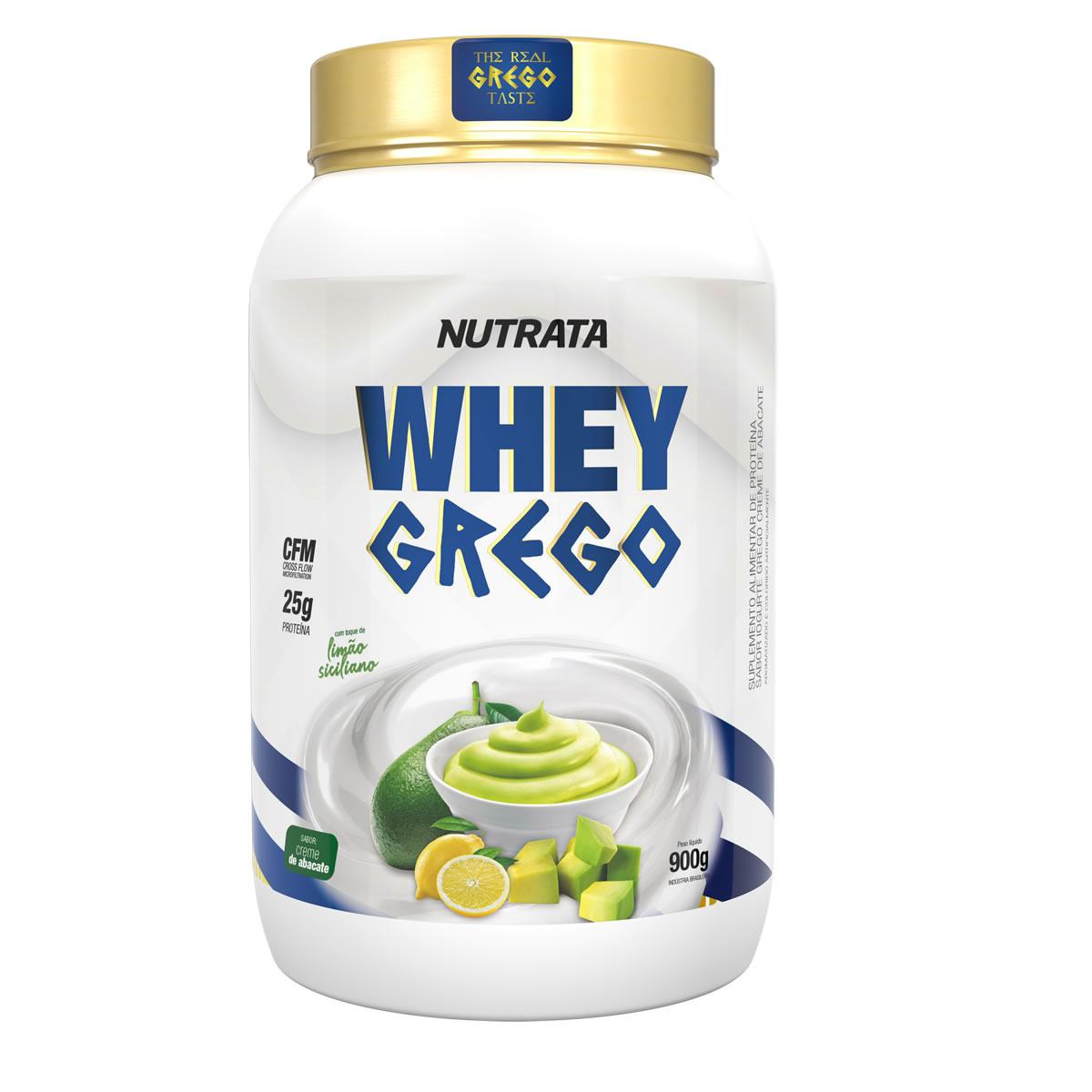Whey Grego sabor Creme de Abacate 900g - Nutrata