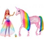 Boneca Barbie Dreamtopia Unicórnio De Luzes Magicas