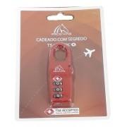 Cadeado com 3 Segredos TSA VM POLO K CD008TSA LUXCEL
