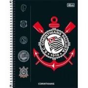 Caderno 10 Matéria Corinthians Capa Dura 160 Fls. capa 1
