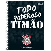 Caderno 1 Matéria Corinthians Capa Dura 80 Fls. capa 3