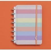 Caderno Inteligente Pequeno Arco-iris A5 - 80 Folhas