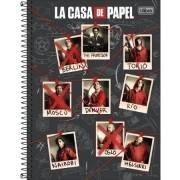 Caderno La Casa de Papel 10Mat 160Fls 293831 TILIBRA
