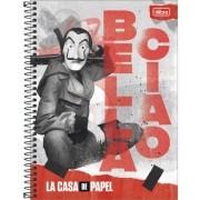 Caderno La Casa de Papel 16Mat 256Fls 295922 TILIBRA