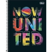 Caderno Now United 160F 10 Matérias 318213 TILIBRA