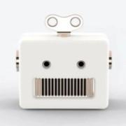 Caixa de Som Robo Branco - UP4YOU