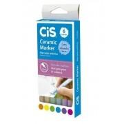 Caneta Cis Marker Ceramic 1.0 mm 6 Cores - 580500