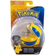 Clip & Carry Pokebola Machop 1971 Pokemon SUNNY / TOMY