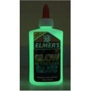Cola Slime Brilha No Escuro Branca Original 147ml Elmers