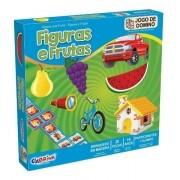 Domino Figuras e Frutas 222 CIA BRINK