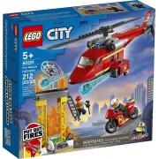 Helicoptero Resgate Bombeiros 212PCS 60281 LEGO