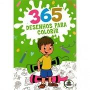 Livro Para Colorir 365 Desenhos - TODOLIVRO