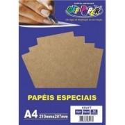 Papel Kraft 180GRS BRANCO 50FLS OFF PAPER
