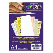 Papel Vergê 180GRS BRANCO 50FLS OFF PAPER