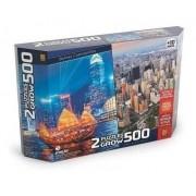 Quebra-Cabeça 500 peças Skylines Cosmopolita 3920 GROW
