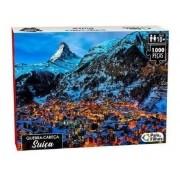 Quebra Cabeça 500 Peças Suíça 0960 PAIS E FILHOS