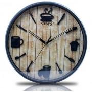 Relógio de Parede Café Sortido GD9722KIY YINS