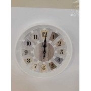 Relógio de Parede  Preto/Branco RL1000-30 CLASSE