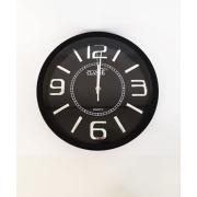 Relógio de Parede Preto RL1202-30 CLASSE