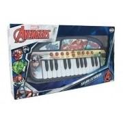 Teclado Eletrônico Musical Avengers Toyng