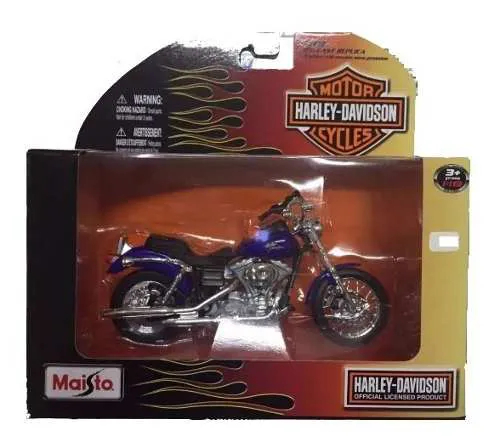 Miniatura Moto Harley 2000 Fxdl Dyna Low Rider 01437