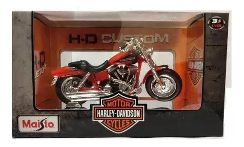 Miniatura Harley-davidson 2009 Cvo Fat Bob 01437