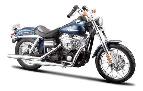Miniatura Harley Davidson Dyna Street Bob 01437
