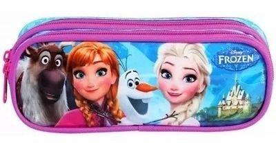 Estojo Duplo Frozen Disney
