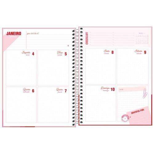 Agenda Planner 2021 Love Pink TILIBRA