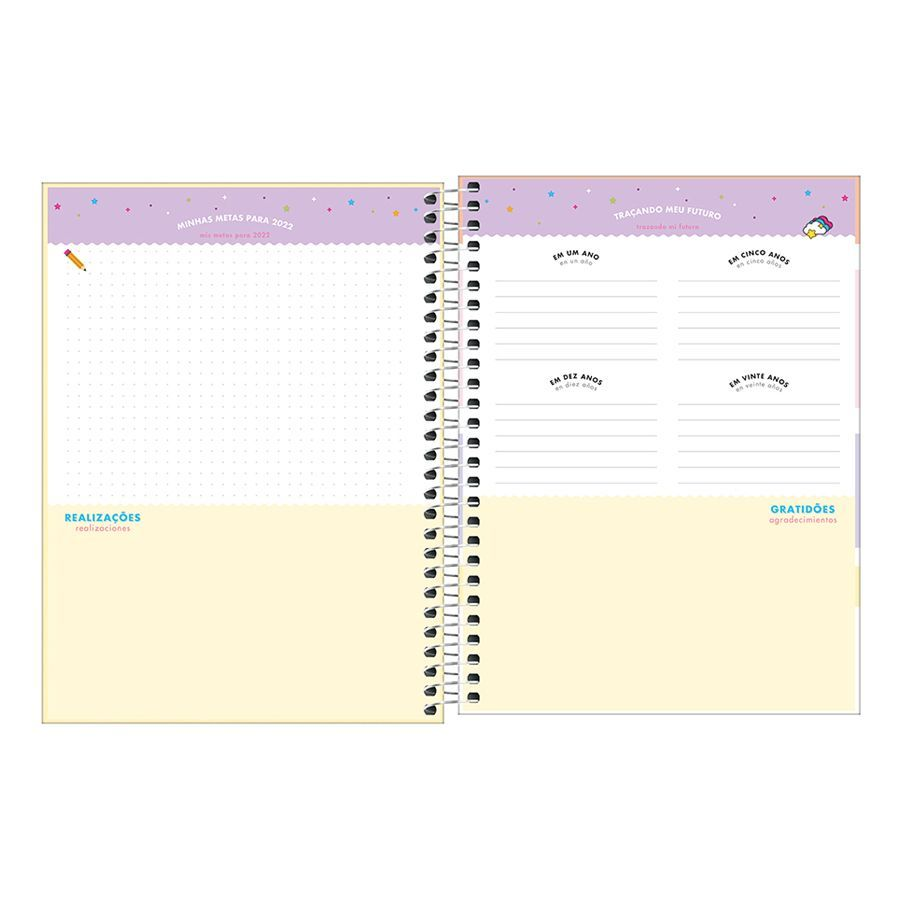 Agenda Planner HAPPY 2022 TILIBRA