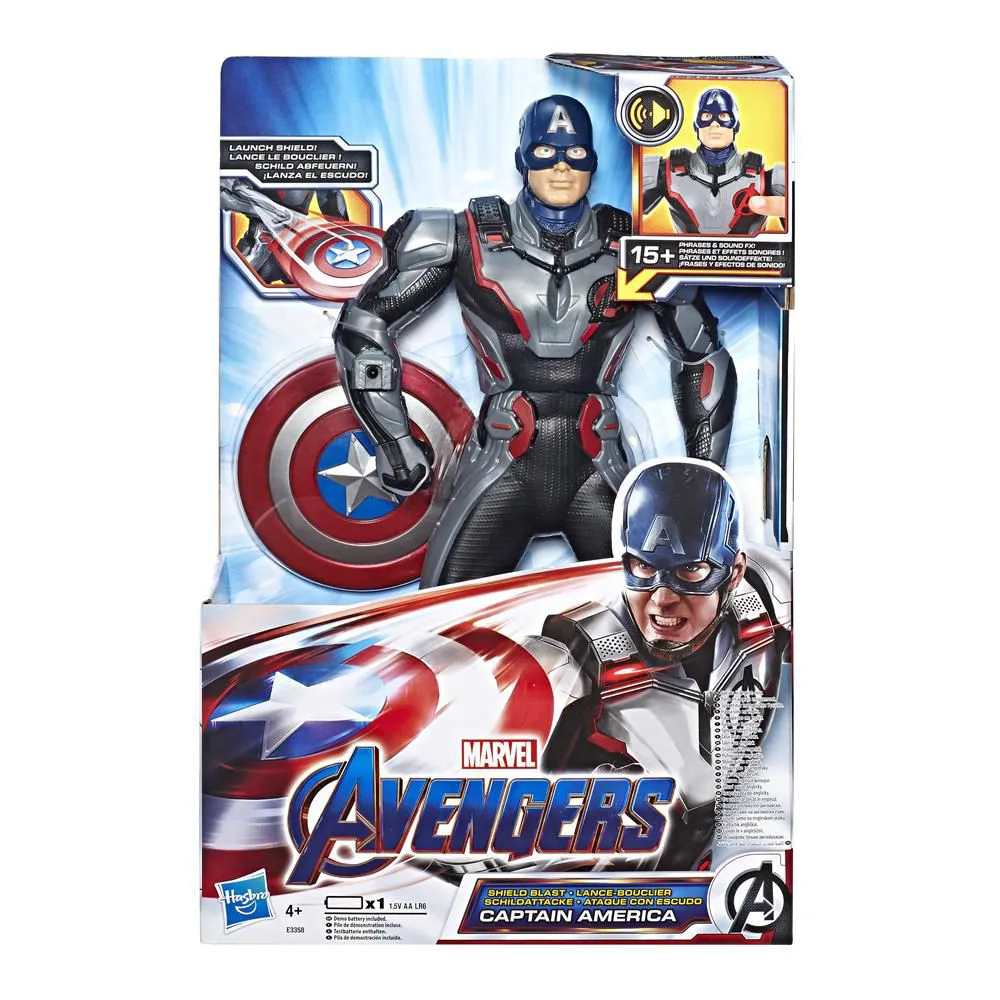 Avengers Capitão América Deluxe E3358 HASBRO