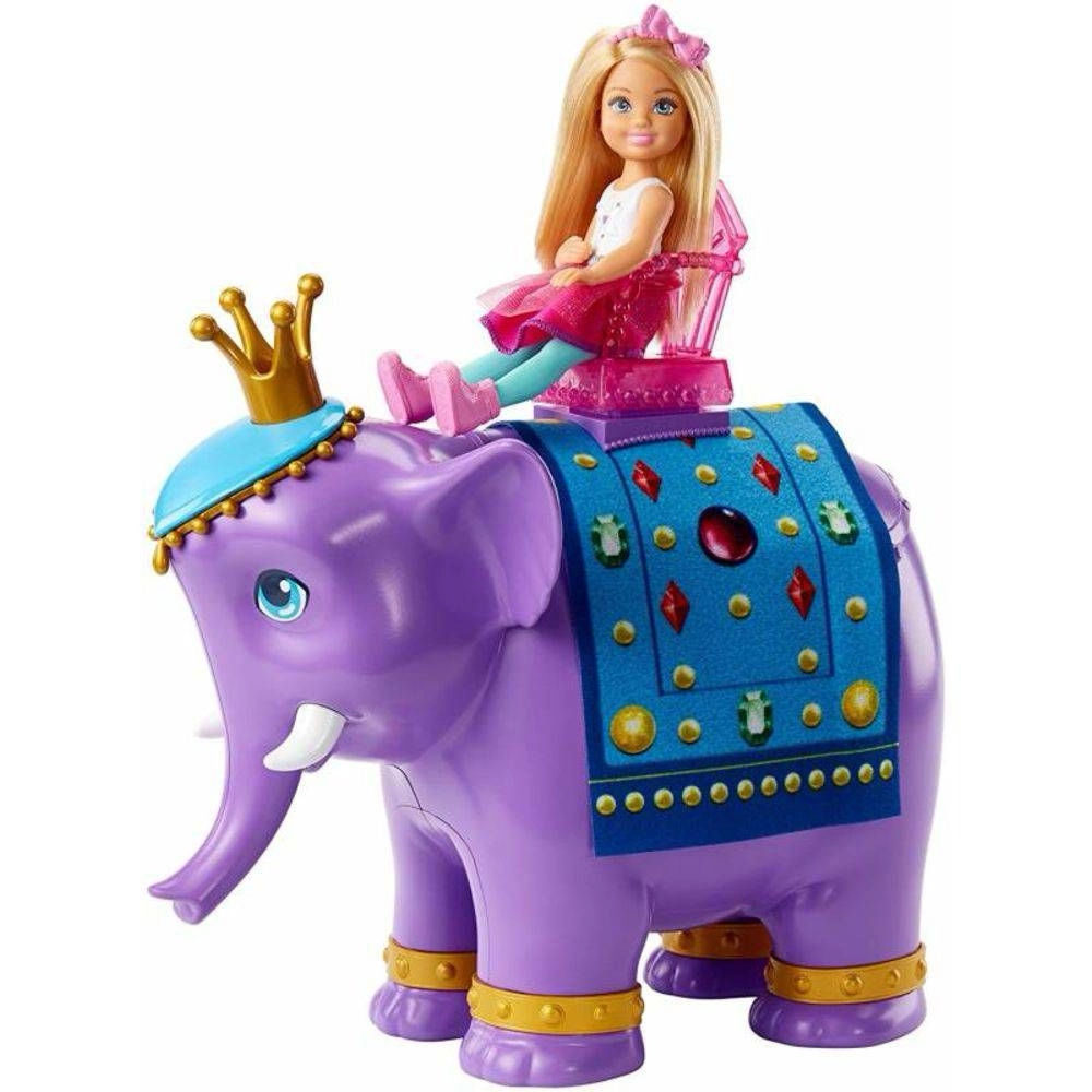 Barbie Chelsea e o Rei Elefante FPL83 MATTEL