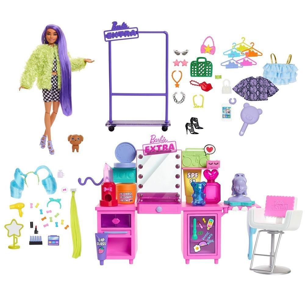 Barbie Extra Penteadeira Luzes e Sons GYJ70 MATTEL