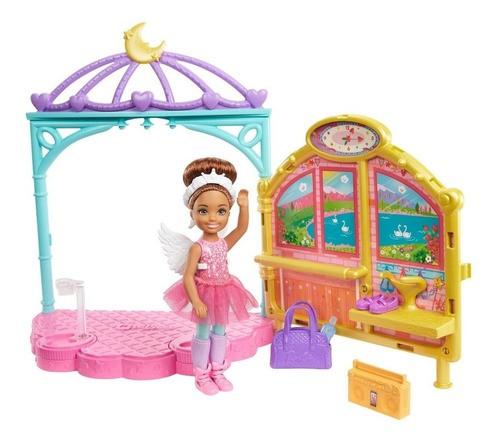 Barbie Family Chelsea Aula Ballet GHV81 MATTEL