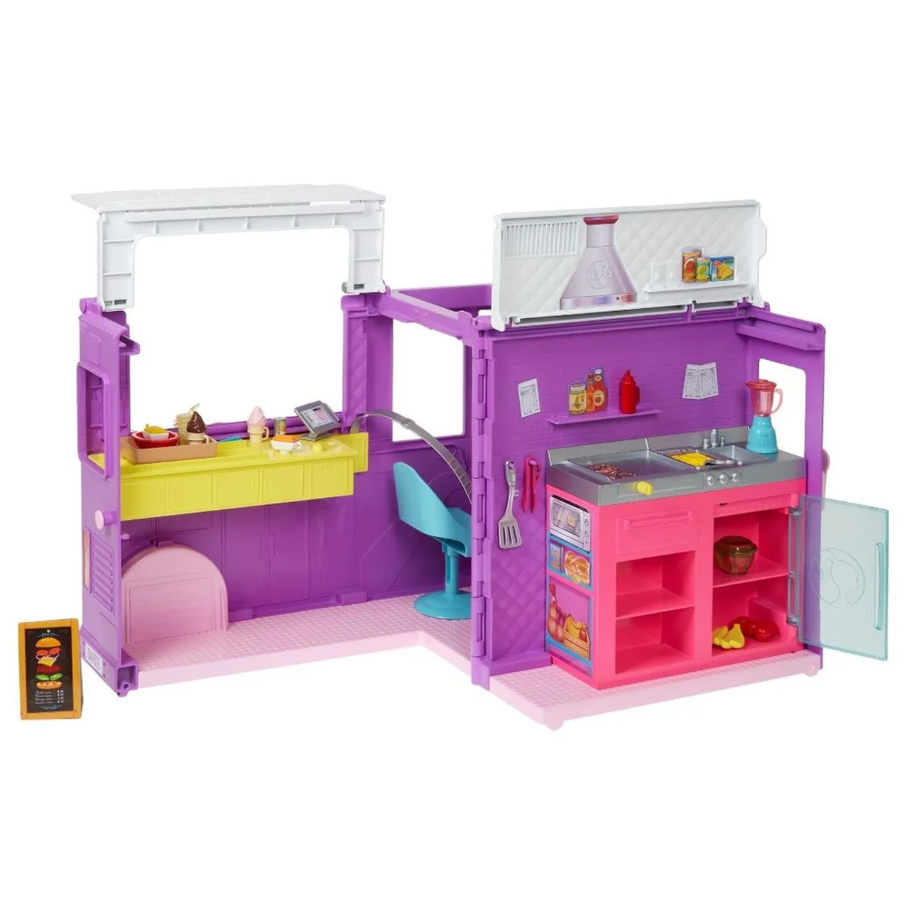 Barbie Food Truck GMW07 MATTEL