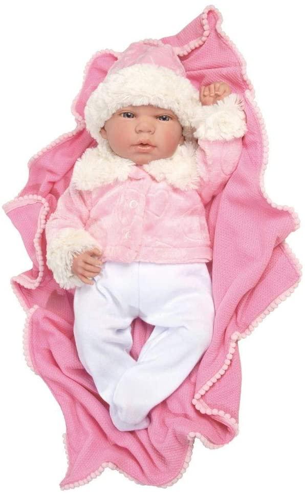 Bebê Reborn Menina 1261 BABY BRINK