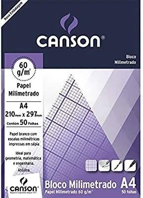 Bloco Milimetrado A4 BR 63GR 50FLS 7083 CANSON