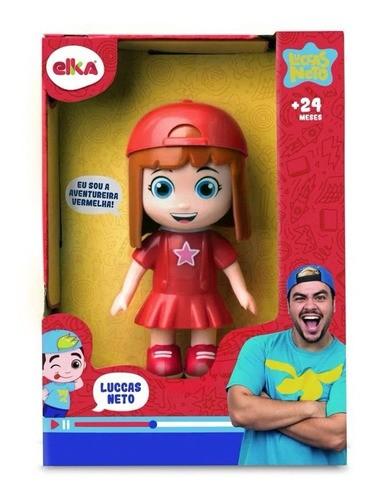 Boneca Gi Neto Aventureira Vermelha 1126 ELKA
