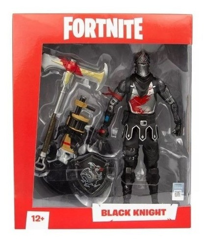Boneco Black Knight Fortnite Fun