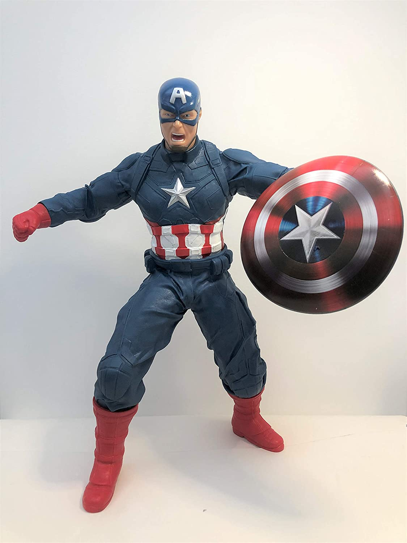 Boneco Capitão América 45cm 0514 MIMO TOYS