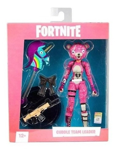 Boneco Cuddle Team Leader Fortnite Fun